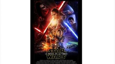Affiche Star Wars 7 le retour de la force